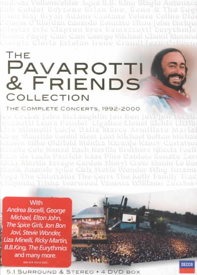 PAVAROTTI & FRIENDS COLLECTION BY PAVAROTTI,LUCIANO (DVD)